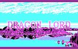 Dragon Lord DOS Title Screen (CGA)