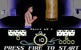 Street Cred Boxing Commodore 64 Start Screen.