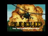 Gunship FM Towns Title screen