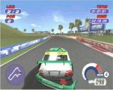 Jarrett & Labonte Stock Car Racing PlayStation There go's the bumper!