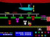 Dynamite Dan ZX Spectrum Start position