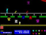 Dynamite Dan ZX Spectrum Walking hands