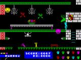 Dynamite Dan ZX Spectrum Fruits power up
