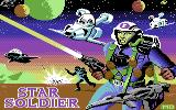 Star Soldier Commodore 64 Loading Screen.
