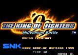 The King of Fighters '99: Millennium Battle Arcade Title screen