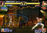 The King of Fighters '99: Millennium Battle Arcade Whip uses whip