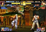 The King of Fighters '99: Millennium Battle Arcade Jhun (striker) appears