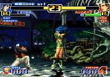 The King of Fighters '99: Millennium Battle Arcade Leona vs Robert