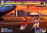 The King of Fighters '99: Millennium Battle Arcade Gals fight