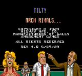 Arch Rivals Arcade Copyright Screen.