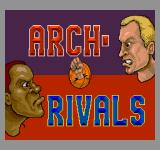 Arch Rivals Arcade Title Screen.