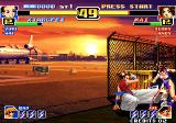 The King of Fighters '99: Millennium Battle Arcade Xianfei's low kick
