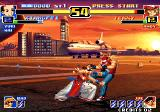 The King of Fighters '99: Millennium Battle Arcade Double hit in Terry's cojones