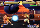 The King of Fighters '99: Millennium Battle Arcade Bao protects Mai