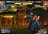 The King of Fighters '99: Millennium Battle Arcade Flame hand
