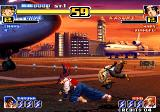 The King of Fighters '99: Millennium Battle Arcade Choi's spinning jump, Kasumi missed him