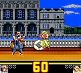 Fatal Fury Special Game Gear round 1 begins