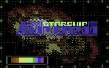 Starship Andromeda Commodore 64 Loading Screen.