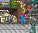 64th. Street: A Detective Story Arcade Throw opponent