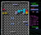 Arkanoid: Doh It Again SNES The L power-up gives Laser Power
