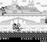 "Sumo Fighter Game Boy Throwing the enemy. Sometimes they release... ""stuff""."