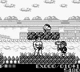 Sumo Fighter Game Boy These enemies are a bunch of weirdos.