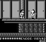 Sumo Fighter Game Boy Meanwhile... this is the stage number... I won't tell you. Btw... big-headed weirdo is approaching.