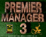 Premier Manager 3 Amiga Title screen