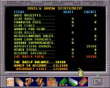 Premier Manager 3 Amiga Bank statement