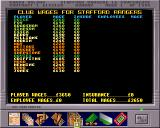 Premier Manager 3 Amiga Club wages