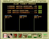 Premier Manager 2 Amiga Ticket prices