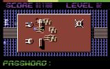 Starforce Nova Commodore 64 Obstacles and aliens.