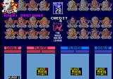 Hit the Ice: The Video Hockey League Arcade Choose your players.