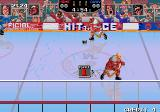 Hit the Ice: The Video Hockey League Arcade Pass the puck.
