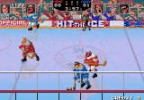 Hit the Ice: The Video Hockey League Arcade Tackle him.