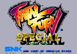 Fatal Fury Special Arcade Title screen