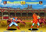 Fatal Fury Special Arcade Laurence Blood blocking an attack by Billy