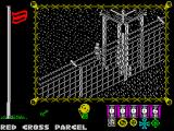 The Great Escape ZX Spectrum Red Cross parcel arrived