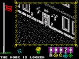 The Great Escape ZX Spectrum Door is locked