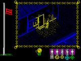 The Great Escape ZX Spectrum Caught by a spotlight at night