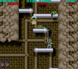 Bionic Commando Arcade Green creatures