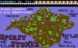 Spirit of the Stones Commodore 64 Title Screen.