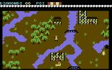 Spirit of the Stones Commodore 64 Exploring the island.