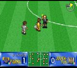 Shijō Saikyō League Serie A: Ace Striker SNES Yellow card for Dino.
