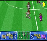 Shijō Saikyō League Serie A: Ace Striker SNES Paulo Sousa (Juventus) controlling the ball with style...