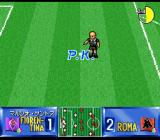 Shijō Saikyō League Serie A: Ace Striker SNES Lonely baldie.