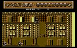Special Agent Commodore 64 Opening doors.