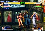 The King of Fighters 2000 Arcade Goenitz as striker