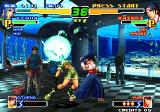 The King of Fighters 2000 Arcade Leona's energy ball