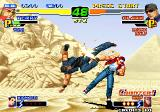 The King of Fighters 2000 Arcade Exploding kick